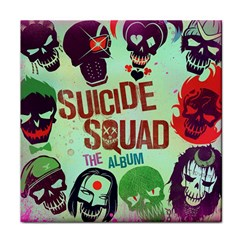 Panic! At The Disco Suicide Squad The Album Face Towel by Onesevenart