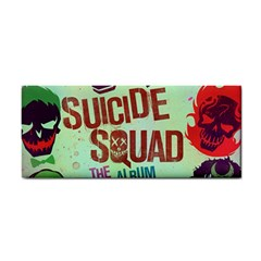 Panic! At The Disco Suicide Squad The Album Hand Towel by Onesevenart