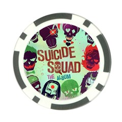 Panic! At The Disco Suicide Squad The Album Poker Chip Card Guards (10 Pack)  by Onesevenart