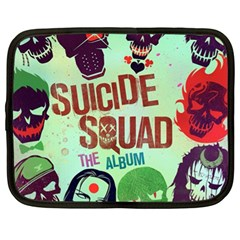 Panic! At The Disco Suicide Squad The Album Netbook Case (xl)  by Onesevenart