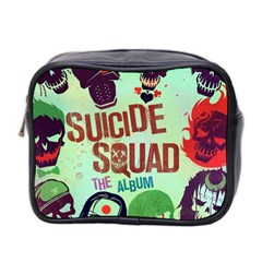Panic! At The Disco Suicide Squad The Album Mini Toiletries Bag 2 Side by Onesevenart