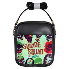 Panic! At The Disco Suicide Squad The Album Girls Sling Bags by Onesevenart