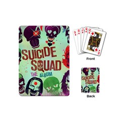 Panic! At The Disco Suicide Squad The Album Playing Cards (mini)  by Onesevenart