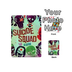 Panic! At The Disco Suicide Squad The Album Playing Cards 54 (mini)  by Onesevenart