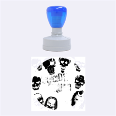 Panic! At The Disco Suicide Squad The Album Rubber Round Stamps (medium) by Onesevenart