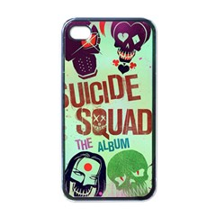 Panic! At The Disco Suicide Squad The Album Apple Iphone 4 Case (black) by Onesevenart