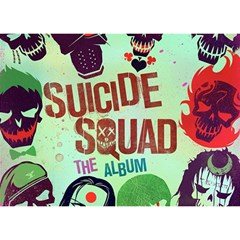 Panic! At The Disco Suicide Squad The Album Birthday Cake 3d Greeting Card (7x5) by Onesevenart