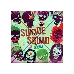 Panic! At The Disco Suicide Squad The Album Acrylic Tangram Puzzle (4  X 4 ) by Onesevenart