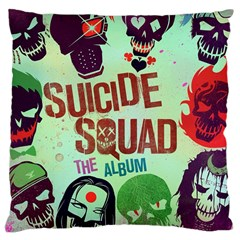 Panic! At The Disco Suicide Squad The Album Large Cushion Case (one Side) by Onesevenart