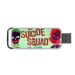 Panic! At The Disco Suicide Squad The Album Portable Usb Flash (two Sides) by Onesevenart