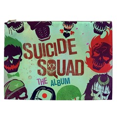 Panic! At The Disco Suicide Squad The Album Cosmetic Bag (xxl)  by Onesevenart