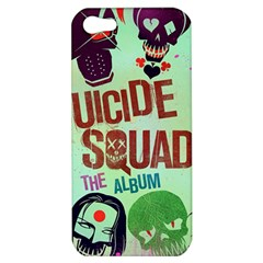Panic! At The Disco Suicide Squad The Album Apple Iphone 5 Hardshell Case by Onesevenart