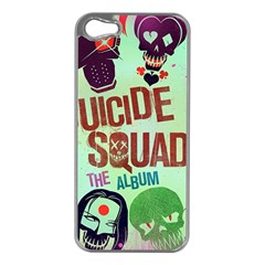 Panic! At The Disco Suicide Squad The Album Apple Iphone 5 Case (silver) by Onesevenart