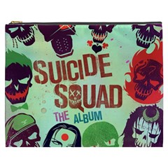 Panic! At The Disco Suicide Squad The Album Cosmetic Bag (xxxl)  by Onesevenart