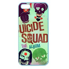 Panic! At The Disco Suicide Squad The Album Apple Seamless Iphone 5 Case (color) by Onesevenart