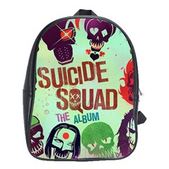 Panic! At The Disco Suicide Squad The Album School Bags (xl)  by Onesevenart