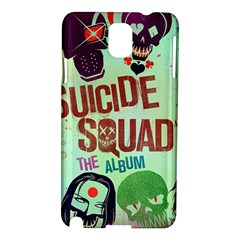 Panic! At The Disco Suicide Squad The Album Samsung Galaxy Note 3 N9005 Hardshell Case by Onesevenart