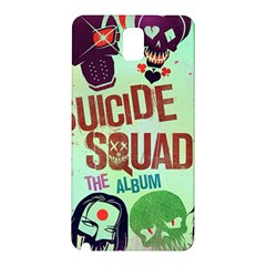 Panic! At The Disco Suicide Squad The Album Samsung Galaxy Note 3 N9005 Hardshell Back Case by Onesevenart
