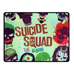 Panic! At The Disco Suicide Squad The Album Double Sided Fleece Blanket (small)  by Onesevenart