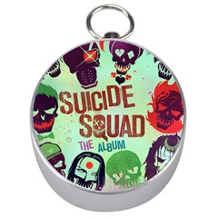 Panic! At The Disco Suicide Squad The Album Silver Compasses by Onesevenart