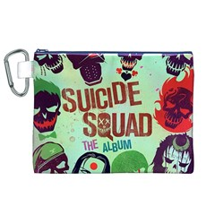 Panic! At The Disco Suicide Squad The Album Canvas Cosmetic Bag (xl) by Onesevenart