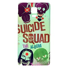 Panic! At The Disco Suicide Squad The Album Galaxy Note 4 Back Case by Onesevenart