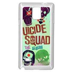 Panic! At The Disco Suicide Squad The Album Samsung Galaxy Note 4 Case (White) by Onesevenart