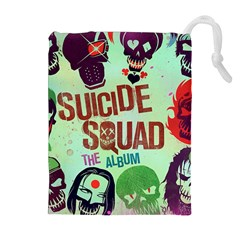 Panic! At The Disco Suicide Squad The Album Drawstring Pouches (extra Large) by Onesevenart