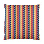 Colorful Chevron Retro Pattern Standard Cushion Case (One Side) Front