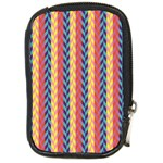 Colorful Chevron Retro Pattern Compact Camera Cases Front