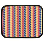 Colorful Chevron Retro Pattern Netbook Case (XXL)  Front