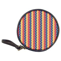 Colorful Chevron Retro Pattern Classic 20 Cd Wallets