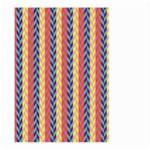 Colorful Chevron Retro Pattern Large Garden Flag (Two Sides)