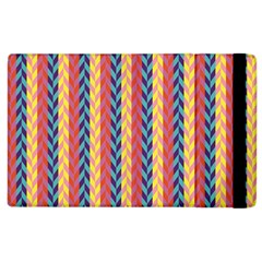 Colorful Chevron Retro Pattern Apple Ipad 3/4 Flip Case
