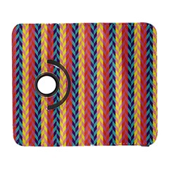 Colorful Chevron Retro Pattern Samsung Galaxy S  Iii Flip 360 Case by DanaeStudio