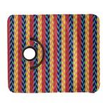 Colorful Chevron Retro Pattern Samsung Galaxy S  III Flip 360 Case