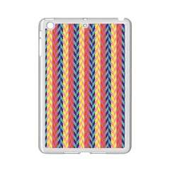 Colorful Chevron Retro Pattern Ipad Mini 2 Enamel Coated Cases by DanaeStudio