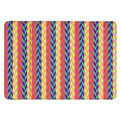 Colorful Chevron Retro Pattern Samsung Galaxy Tab 8 9  P7300 Flip Case