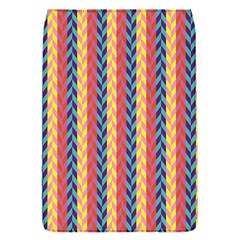 Colorful Chevron Retro Pattern Flap Covers (s)  by DanaeStudio