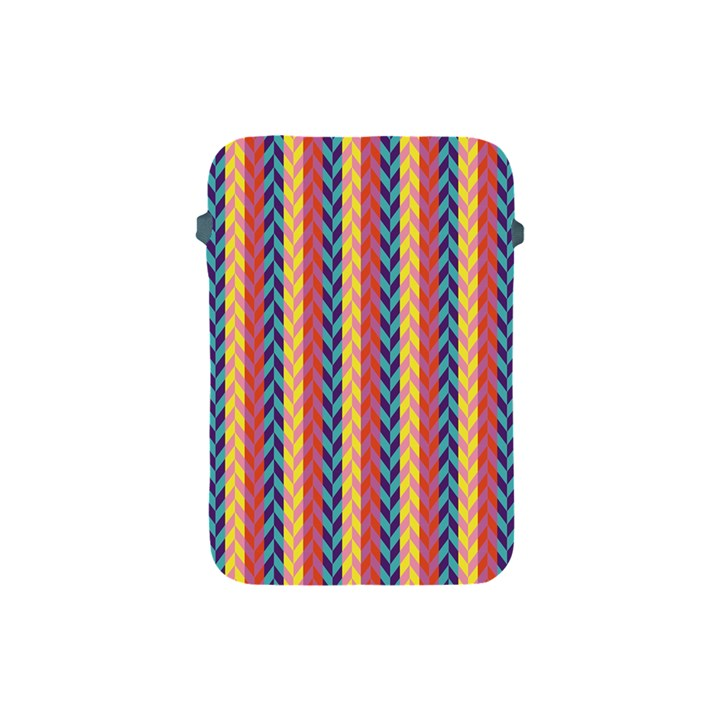 Colorful Chevron Retro Pattern Apple iPad Mini Protective Soft Cases