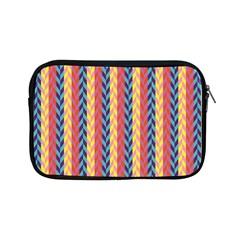 Colorful Chevron Retro Pattern Apple Ipad Mini Zipper Cases by DanaeStudio