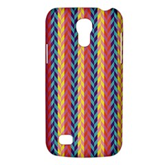 Colorful Chevron Retro Pattern Galaxy S4 Mini by DanaeStudio