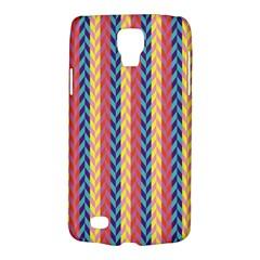 Colorful Chevron Retro Pattern Galaxy S4 Active