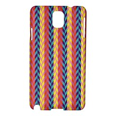 Colorful Chevron Retro Pattern Samsung Galaxy Note 3 N9005 Hardshell Case by DanaeStudio