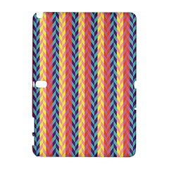 Colorful Chevron Retro Pattern Samsung Galaxy Note 10 1 (p600) Hardshell Case