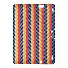 Colorful Chevron Retro Pattern Kindle Fire Hdx 8 9  Hardshell Case by DanaeStudio
