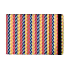 Colorful Chevron Retro Pattern Ipad Mini 2 Flip Cases