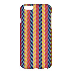 Colorful Chevron Retro Pattern Apple Iphone 6 Plus/6s Plus Hardshell Case by DanaeStudio