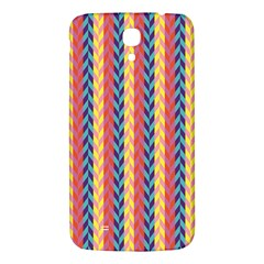 Colorful Chevron Retro Pattern Samsung Galaxy Mega I9200 Hardshell Back Case by DanaeStudio