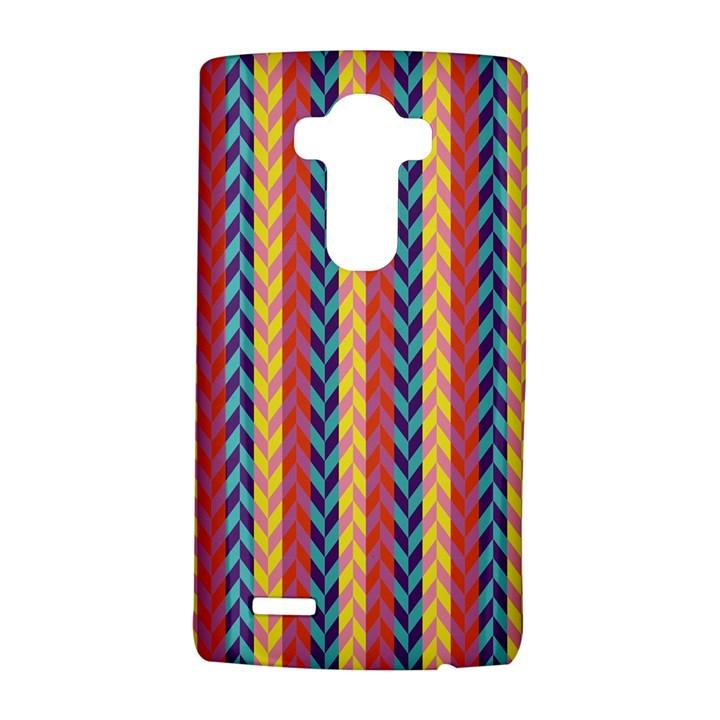 Colorful Chevron Retro Pattern LG G4 Hardshell Case